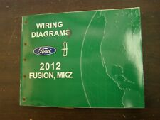 OEM Ford 2012 Fusion Shop Manual Wiring Diagram Book nos Lincoln MKZ