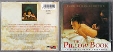 CD THE PILLOW BOOK DE PETER GREENAWAY BO FILM 1997 13T INCLUS CHANSON