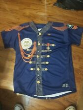 """Fresno Grizzlies """"Vinyl Night"""" Sgt Peppers Commemorative Jersey SIze 48 signed"""