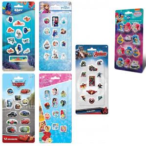 Radiergummi-Set 12-tlg Shimmer & Shine Frozen Cars Dory nach dem Disney