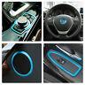 Rahmen für BMW F30 F34 Fenster Schalter+Loudspeaker+Lenkrad+Navi Controller blau