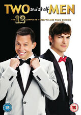 Two 2 and a Half Men Complete Series 12 DVD All Episodes 12th Season UK
