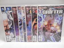 Grifter DC New 52 Comic Books 1-8 Green Arrow App.