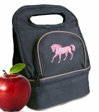 Pink Horse Lunch Bag Lunchbox Cooler Bags
