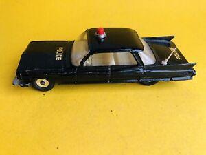 Dinky Toys 258 Cadillac Police Patrol with original antenna