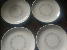 "Homer Laughlin Vintage "" Fortune "" Dinnerware Bread & Butter Plates / 4"
