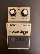 VINTAGE RARE MIJ Boss NF-1 NF 1 Noise Gate Guitar Effect Pedal Free UK Postage