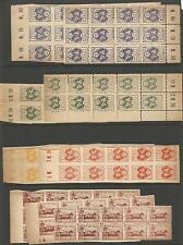 Lithuania Poland Litwa Srodkowa 102 stamps in blocks MNG (2ciy)