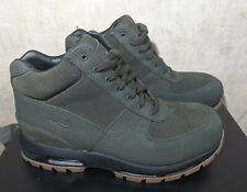 Nike Air Max Goadome Boots Men- Sequoia Gum- Size 8 -BQ3459-300- Leather Boots
