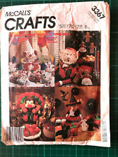 McCalls Crafts Sewing Pattern - 3367 - Festive Table Holiday Package