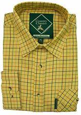 Country Classic Mens Long Sleeve Quality Check Shirt Shooting Fishing Work S-5XL