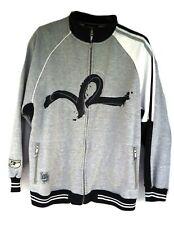 Roca Wear Mens 2X Zip up Sweatshirt Jacket Large Logo on front Hand Crafted