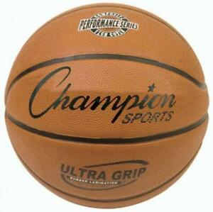 Champion Sports Ultra Grip Basketball - Official