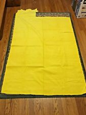 """Yellow Corduroy fabric piece 59""""x43"""" Never washed"""