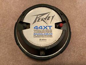 Peavey 44XT w/adapter Driver -8 ohm