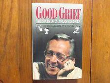 "RHETA GRIMSLEY JOHNSON Signed Book(""CHARLES M SCHULZ""-1989 1st Edition Hardback)"