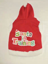 """DOGGIE CHRISTMAS CLOTHES SIZE """"S""""- 8"""" ACROSS"""
