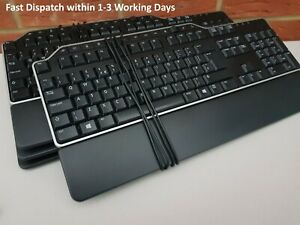 Lot of 4 DELL Wired Corded USB Full Size QWERTY Keyboards. USB DELL KB522p