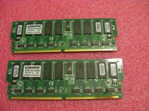 Kingston 256MB Kit (2 128) Kts7001/1024 Ultra 60