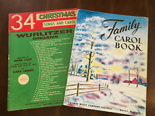 CHRISTMAS 34 Christmas Songs and Carols + Family Carol Book For Organs