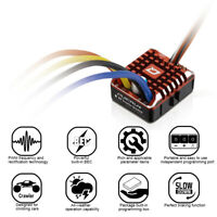 Hobbywing QuicRun 1080 Waterproof Brushed 80A/60A ESC + Program Card For Crawler
