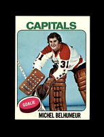 1975-76 Topps Hockey #232 Michel Belhumeur (Capitals) NM-MT
