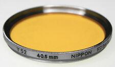 Nikon RF Nippon Kogaku 40.5mm Y52 Filter   #2