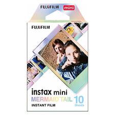 1 Pack 10 Photos Mermaid Tail FujiFilm Fuji Instax Mini Film Polaroid 7S Liplay