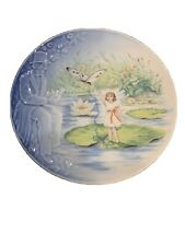 Rare Thumbelina Second In Series Royal Copenhagen Porcelain Plate Le Vintage