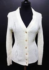 CULT VINTAGE '70 Sweater Woman Cardigan Wool Wool Woman Sweater Sz. M - 44