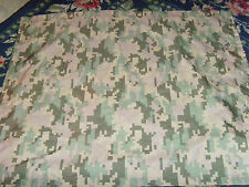 Pair of military theme pillowshams camo camouflauge standard size set novelty