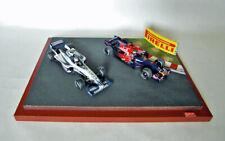 Diorama 1/43 F1 Vibreur courbe   - Petit Modèle - Pirelli - Hamilton