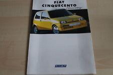 106057) Fiat Cinquecento Sporting Prospekt 11/1994