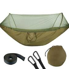 Double Person Hammock With Mosquito Net Outdoor Camping Tent Travel Hanging Bed
