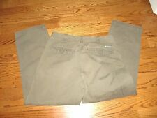 "Men's""COLUMBIA""Hommes 100%Cotton Olive Green Regular Fit  Jeans W34""/L30""NICE!"