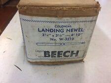 "Colonial Stair & Woodwork Starting Newel 3 1/4"" x 3 1/4"" x 4'10"" Beech W-3210"