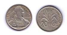 FRENCH INDOCHINE  1941  20 CENTS  NI VF+