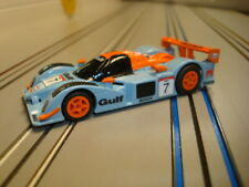 AFX/Tomy Custom HO Gulf Puegeot LMP Slot Car