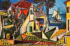 """Mediterráneo. arte por Pablo Picasso. reproducción. Impresión sobre Lienzo 20""""x 30"""""""