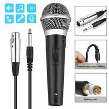Professional Handheld Wired Dynamic Microphone Audio Karaoke Singing Vocal Music