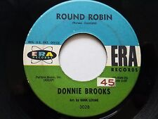 "DONNIE BROOKS - Round Robin / Doll House 1960 ROCK n ROLL ERA 7"""
