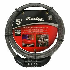 Master Lock 10mm Combination Security Cable - USA BRAND