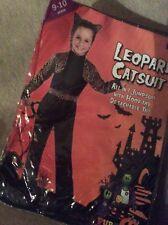 BNWT Girls LEOPARD CATSUIT Halloween 🎃 Fancy Dress Costume Age 9-10 yrs
