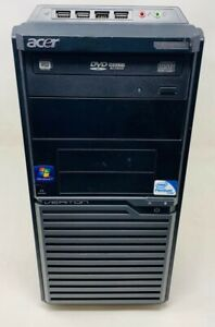 Acer Veriton M275 Desktop Computer Pentium E5800 3.20GHz / RAM 4GB / HDD