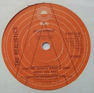 """Soul 70's Modern 7""""-Realistics-Someone Ought To Write A Song About You-UK Epicdj"""