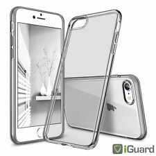 Für Apple iPhone 7 (4.7) Hülle Schutzhülle Bumper KLAR Transparent TPU Case NEU