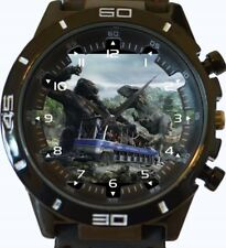 King Kong Vs T Rex New Gt Series Sports Unisex Gift Wrist Watch