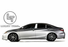 Toyota Camry Stainless Steel Chrome Pillar Posts by Luxury Trims 2015-2017 (6pc)