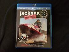 Jackass 3 Unrated Blu ray+DVD,No Digital