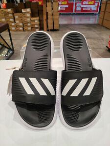 Alphabounce BB Slippers Adidas BA8775 Men Swim Sandals white/black